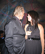 David Carradine with wife.LA Confidential Party Pre Golden Globe.Whiskey Blue at W Hotel.Westwood, CA, USA.Saturday, January 13, 2007.Photo By Celebrityvibe.com.To license this image please call (212) 410 5354; or.Email: celebrityvibe@gmail.com ;.Website: www.celebrityvibe.com