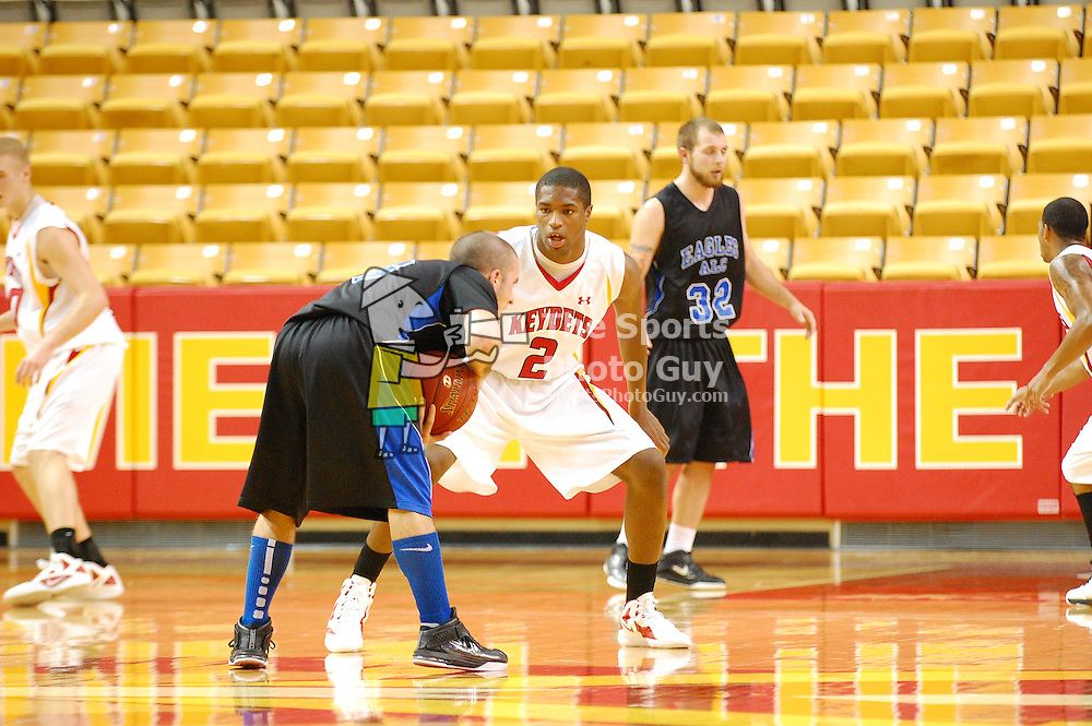 Big 2nd half leads VMI over Alice Lloyd, 101-74.