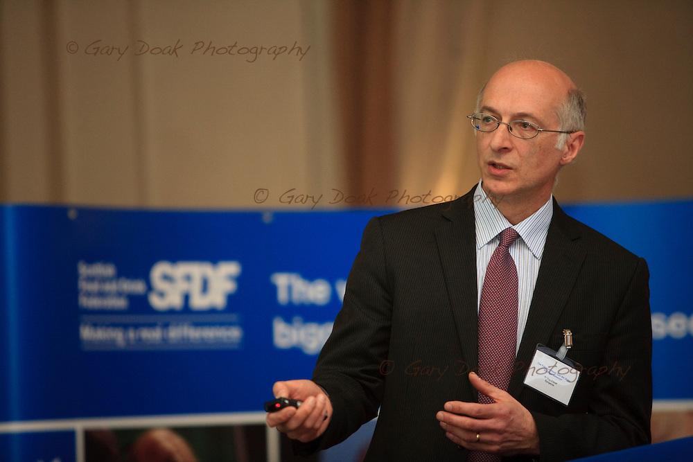 The Scottish Food and Drink Federation.Conference.Speaker, Ray Elliot..George Hotel.Edinburgh