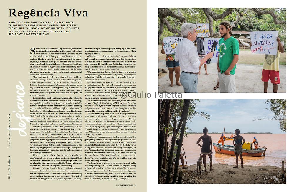 """Regencia Viva"", Rio Doce, Brazil. Published in Huck magazine, UK, February 2016"