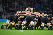 Twickenham, Surrey. England.      during the Killik Cup, Barbarians vs New Zealand. Twickenham. UK<br /> <br /> Saturday  04.11.17<br /> <br /> [Mandatory Credit Peter SPURRIER/Intersport Images]