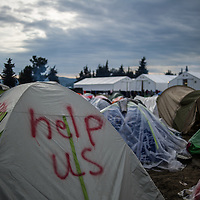 12 Idomeni Refugee Camp