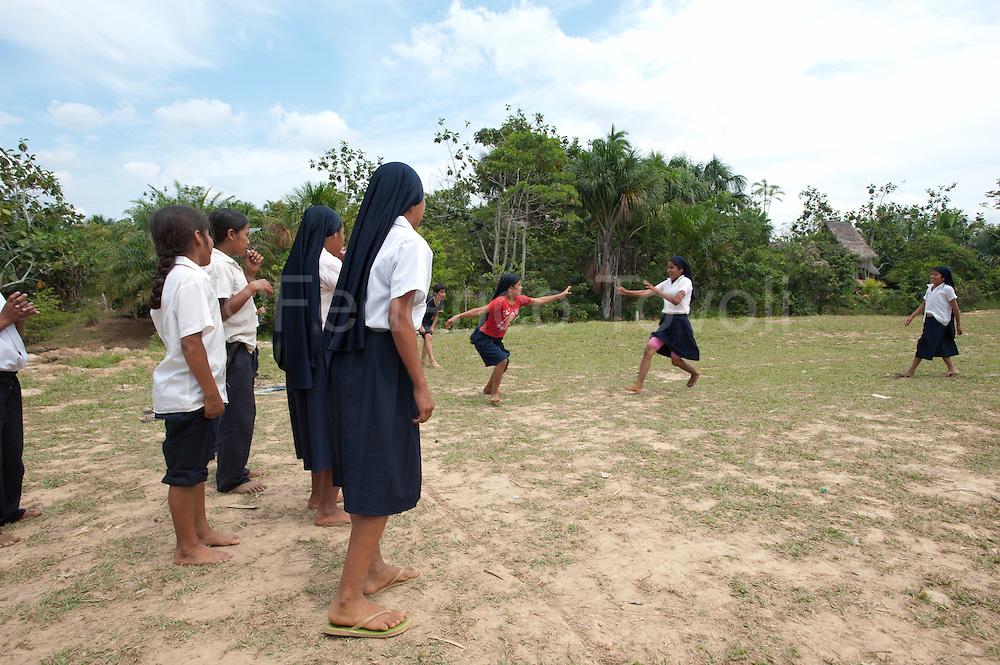 At Nuevo Pevas school