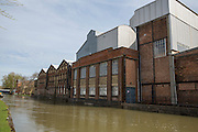 Old Power Station on the East side of River Thames between Osney Bridge and Botley Road Bridge in Oxford City, England, United Kingdom. The power station produced electricity for the city and elsewhere for 77 years and was opened in 1892 and closed in 1969. Oxford University plans to convert the building for Said Business School.  (photo by Andrew Aitchison / In pictures via Getty Images)