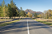 Road to Hanmer Springs in Autumn