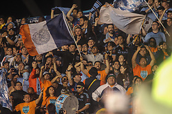 April 14, 2017 - Chester, PA, United States of America - New York City FC fans celebrate in the stands in the second half of a Major League Soccer match between the Philadelphia Union and New York City FC Friday, Apr. 17, 2016 at Talen Energy Stadium in Chester, PA. (Credit Image: © Saquan Stimpson via ZUMA Wire)