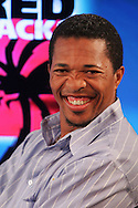 Makhaya Ntini during the official launch press conference and party for the Airtel Champions League T20 tournament (being held in South Africa in September 2010) held at Taboo nightclub in Sandton, Johannesburg on the 10 August 2010..Photo by..CLT20 / SPORTZPICS