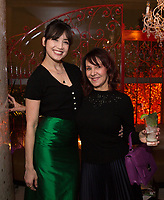 Daisy Lowe and Arlene Phillips - SUSHISAMBA hosted a glittering party at their vibrant restaurant to celebrate the 10th birthday of Cool Earth, their charity partner that works to halt rainforest destruction. Celebrity guests included Dame Vivienne Westwood, Daisy Lowe, Leah Wood, Alexandra Richards, Julien Macdonald, Jasmine Hemsley, Jack Guinness and Savannah Miller. Guests ate a special menu devised by SUSHISAMBA's Chef Director Claudio Cardoso using ingredients sourced directly from the rainforest in select dishes including Seasonal Vegetable Tempura, El Topo and Welcome to the Rainforest dessert and drank Yuzu Gin Fizz and a special Ashaninka Forest Cocktail at the star studded party. Celebrity guests joined SUSHISAMBA CEO Shimon Bokovza and Cool Earth's Director Matthew Owen.