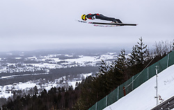 15.03.2019, Vikersundbakken, Vikersund, NOR, FIS Weltcup Skisprung, Raw Air, Vikersund, Qualifikation, Herren, im Bild Evgeniy Klimov (RUS) // Evgeniy Klimov of Russian Federation during the men's qualifying of the 4th Stage of the Raw Air Series of FIS Ski Jumping World Cup at the Vikersundbakken in Vikersund, Norway on 2019/03/15. EXPA Pictures © 2019, PhotoCredit: EXPA/ JFK