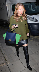 Rosie Fortescue attends Cherry Edit Launch Party at Cafe Kuizen, Hanover Square, London on Wednesday 1 October 2014