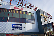 A general outside view of The Northern Commercials Stadium before the EFL Sky Bet League 1 match between Bradford City and Plymouth Argyle at the Northern Commercials Stadium, Bradford, England on 11 November 2017. Photo by Craig Zadoroznyj.