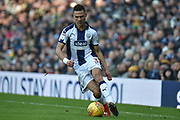West Bromwich Albion defender Kieran Gibbs (3) during the EFL Sky Bet Championship match between West Bromwich Albion and Middlesbrough at The Hawthorns, West Bromwich, England on 2 February 2019.