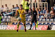 Gaol, Josh Ruffels of Oxford United builds up to his goal, Oxford United 2-1 Wycombe Wanderers during the EFL Sky Bet League 1 match between Oxford United and Wycombe Wanderers at the Kassam Stadium, Oxford, England on 30 March 2019.