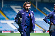 Blackburn Rovers midfielder Bradley Dack (23) arrives at the ground during the EFL Sky Bet Championship match between Leeds United and Blackburn Rovers at Elland Road, Leeds, England on 9 November 2019.