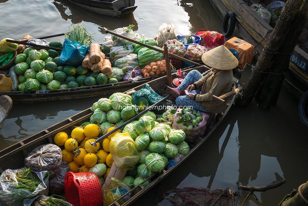 Vietnam Images-Chợ nổi-Floating market