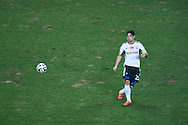 Legia's Ivica Vrdoljak controls the ball during T-Mobile ExtraLeague soccer match between Legia Warsaw and Podbeskidzie Bielsko Biala in Warsaw, Poland.<br /> <br /> Poland, Warsaw, March 01, 2015<br /> <br /> Picture also available in RAW (NEF) or TIFF format on special request.<br /> <br /> For editorial use only. Any commercial or promotional use requires permission.<br /> <br /> Mandatory credit:<br /> Photo by © Adam Nurkiewicz / Mediasport