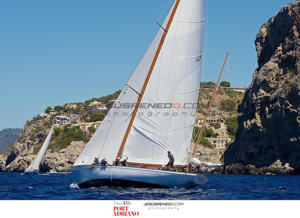 Classic Yachts Silver Bollard Regatta 2013, Port Adriano, Mallorca, Spain