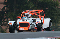 #93 Hugh Coulter Caterham C400 (Boss) 2000 during the CSCC Gold Arts Magnificent Sevens at Oulton Park, Little Budworth, Cheshire, United Kingdom. October 15 2016. World Copyright Peter Taylor/PSP. <br /> Copy of publication required for printed pictures.  Every used picture is fee-liable. http://archive.petertaylor-photographic.co.uk