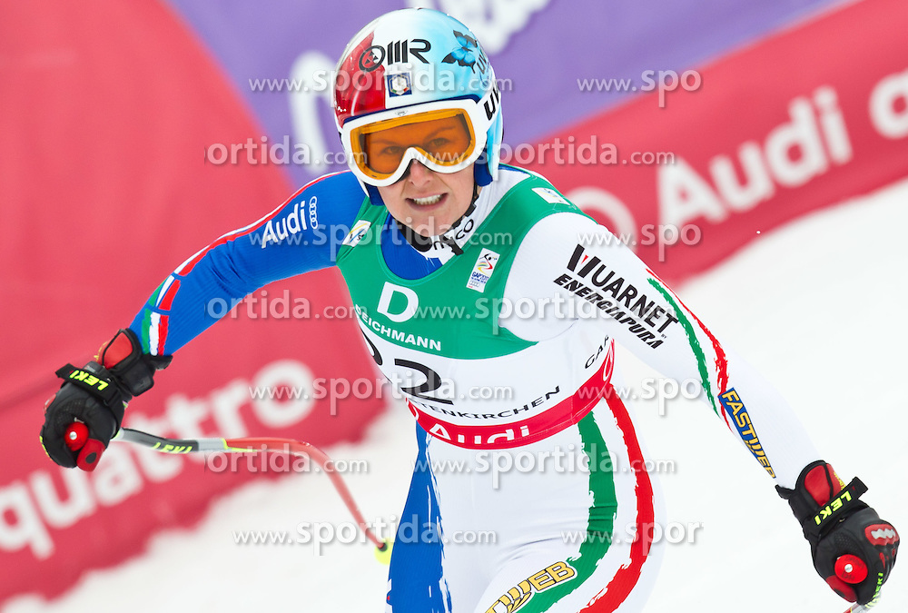 13.02.2011, Kandahar, Garmisch Partenkirchen, GER, FIS Alpin Ski WM 2011, GAP, Damen Abfahrt, im Bild Daniela Merighetti (ITA) // Daniela Merighetti (ITA) during womens Downhill, Fis Alpine Ski World Championships in Garmisch Partenkirchen, Germany on 13/2/2011, 2011, EXPA Pictures © 2011, PhotoCredit: EXPA/ J. Feichter