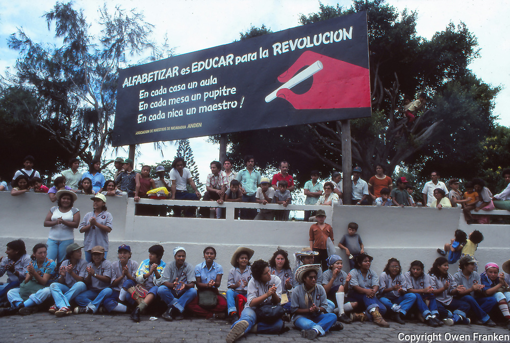 Nicaragua - 1980- literacy campaign -
