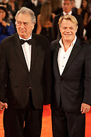 Stephen Frears and Eddie Izzard at the premiere of the film Victoria & Abdul at the 74th Venice Film Festival, Sala Grande on Sunday 3 September 2017, Venice Lido, Italy.