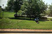 photo by Matt Roth..Bolt Bus Baltimore Tuesday, July 31, 2012.