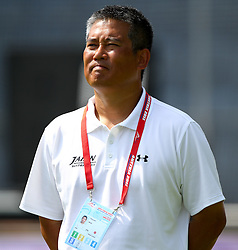 13.07.2011, UPC Arena, Graz, AUT, American Football WM 2011, Group B, Japan (JAP) vs Canada (CAN), im Bild Kiyoyuki Mori (Japan, Head Coach)  // during the American Football World Championship 2011 Group B game, Japan vs Canada, at UPC Arena, Graz, 2011-07-13, EXPA Pictures © 2011, PhotoCredit: EXPA/ T. Haumer