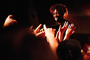 Few individuals in hip-hop strike a profile like Detroit's Danny Brown. His 2011 release XXX still holds as one of the best rap albums in recent memory. With his next record Old due in August, this tour would likely be the last time to see a set heavy on those cuts.<br /> <br /> At Old Rock House in St. Louis on April 29th, 2013 the Adderall Admiral had no problem showing off your girlfriend's favorite tongue.
