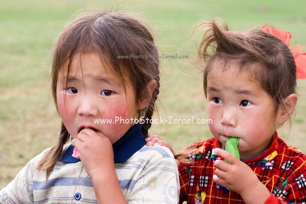 2 Mongolian girls