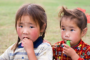 2 Mongolian girls