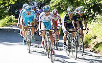 Fabio Aru - Astana - 28.05.2015 - Tour d'Italie - Etape 18 : Melide / Verbania <br />Photo : Pool / Sirotti / Icon Sport