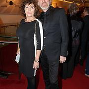 NLD/Amsterdam/20151019 - Premiere Fatal Attraction, Henriette Tol en partner Rob Snoek