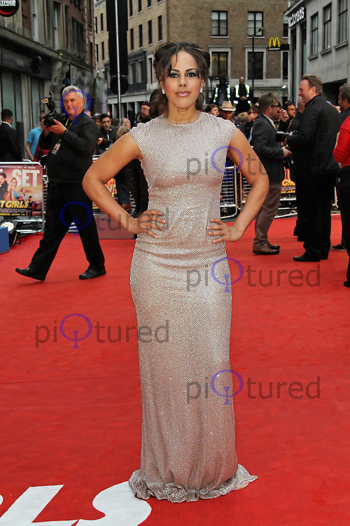 LONDON - JUNE 07: Lenora Crichlow attends the World Film Premiere of 'Fast Girls' at the Odeon West End, Leicester Square, London, UK. June 07, 2012. (Photo by Richard Goldschmidt)