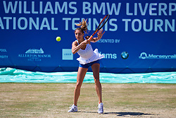 LIVERPOOL, ENGLAND - Sunday, June 24, 2018: Corinna Dentoni (ITA) during day four of the Williams BMW Liverpool International Tennis Tournament 2018 at Aigburth Cricket Club. (Pic by Paul Greenwood/Propaganda)