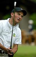 MOLENSCHOT - Tjeerd Staal.   Voorjaarswedstrijd golf 2003 op GC Toxandria. . COPYRIGHT KOEN SUYK