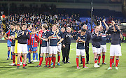 Dundee applaud their fans - Crystal Palace v Dundee - Julian Speroni testimonial match at Selhurst Park<br /> <br />  - © David Young - www.davidyoungphoto.co.uk - email: davidyoungphoto@gmail.com