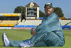 File photo dated 09-09-2004 of Zimbabwe's 21 year old Cricket captain Tatenda Taibu.