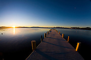 Frosty Pier<br /> Lake Tahoe