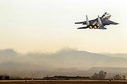 Israeli Air force (IAF) Fighter jet F-15 (BAZ) in flight