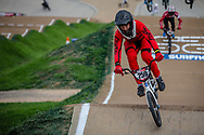 #259 (SMITH Jeremy) USA at Round 2 of the 2020 UCI BMX Supercross World Cup in Shepparton, Australia.