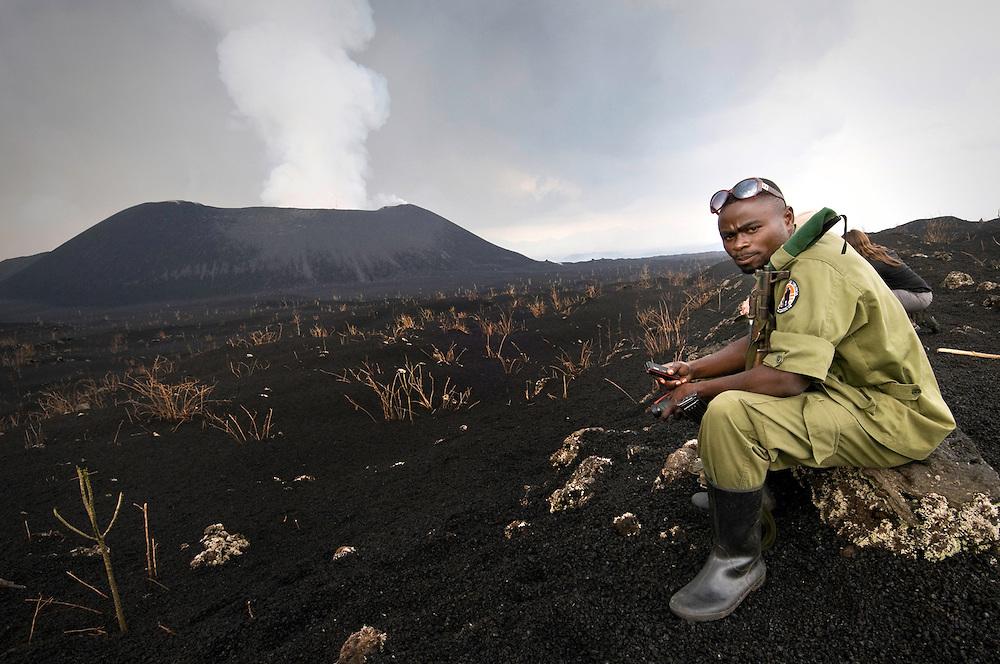 Mt Nyamuragira, Democratic Republic of Congo, 2011