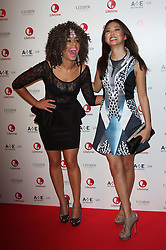 Launch of 'Lifetime'<br /> L-R  - Adiza Shardow with Elizabeth Tan attends the launch of new entertainment channel 'Lifetime' at One Marylebone, London, United Kingdom. Tuesday, 29th October 2013. Picture by  i-Images