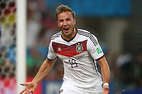 Fifa Soccer World Cup - Brazil 2014 -  Trophy Delivery - Crowning of Champion  - <br /> GERMANY (GER) Vs. ARGENTINA (ARG) - Estadio do Maracana Rio De Janeiro (BRA)  -Brazil (BRA) - 13 July 2014 <br /> Here German player Mario GOETZE goal celebration.<br /> © PikoPress