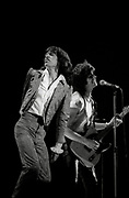 Mick Jagger and Keith Richards - The Rolling Stones Live in London 1979