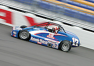 05 MAY 2007: Mat Neely (17) of RW Motorsports practices in his Silver Crown car before the Casey's General Stores USAC Triple Crown at the Iowa Speedway in Newton, Iowa on May 5, 2007.