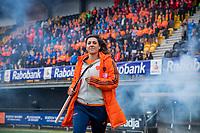 Den Bosch - Rabo fandag 2019 . hockey clinics met de spelers van het Nederlandse team. opkomst van international Malou Pheninckx  (Ned) .   COPYRIGHT KOEN SUYK
