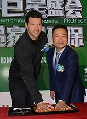 Michale Ballack, Werner Schlager at Shanghai Event - 20 March 2018