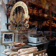 Brick Oven Breads window