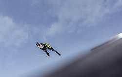 02.03.2019, Seefeld, AUT, FIS Weltmeisterschaften Ski Nordisch, Seefeld 2019, Skisprung, Mixed Team Bewerb, im Bild Maren Lundby (NOR) // Maren Lundby of Norway during the mixed team competition in ski jumping of nordic combination of FIS Nordic Ski World Championships 2019. Seefeld, Austria on 2019/03/02. EXPA Pictures © 2019, PhotoCredit: EXPA/ Stefanie Oberhauser