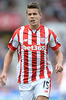 Stoke City's Marco Van Ginkel during the Barclays Premier League match at the Britannia Stadium, Stoke-on-Trent.